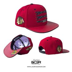 NEW RELEASE // Chicago Blackhawks 'Player' Red Snapback // Now Available Online