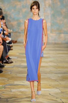 Tory Burch Spring 2016 Ready-to-Wear Fashion Show - Antonina Petkovic