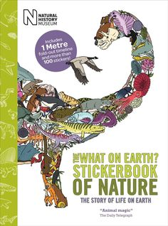 The What on Earth? Sticker book of Nature