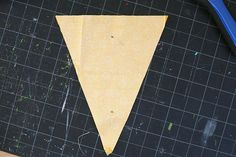How to make fabric banner- provides concise directions