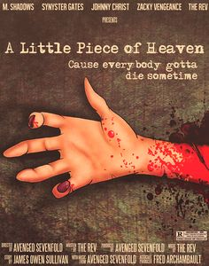 Little Piece Of Heaven Movie Poster Avenged Sevenfold A7X