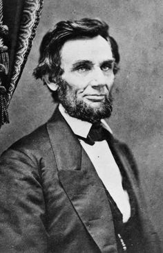President-elect Abraham Lincoln, 1861