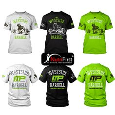 NutriFirst - (MusclePharm) WestSide Barbell Tee (WB)