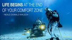 Inspiration for the Mission Aquarius aquanaut team on day 3 of training.    Photo by OWOO aquanaut DJ Roller