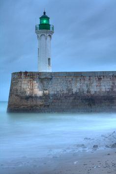 Lighthouse at Saint Valery en Caux ~ Normandy