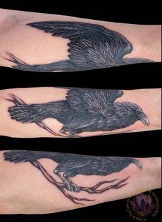 Raven Tattoo - Rachel Gilbert