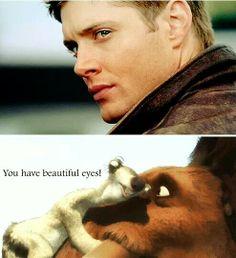You have beautiful eyes! ~ Supernatural