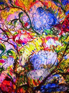 "Saatchi Art Artist Nada  Sucur Jovanovic; Painting, ""Ozon"" #art"
