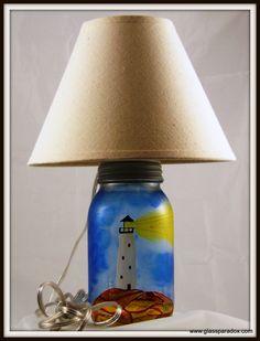 Lighthouse Lamp - Glass Paradox