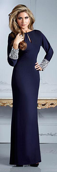 Terani Couture M2254 - Evening Fall 2013 Dress