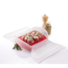 8. Sposób na pieczone lub prażone ryby, mięso lub warzywa. Dodaj do naczynia ulubione składniki. Dolej odrobiny wody lub oliwy na dno. Wstaw do piekarnika lub kuchenki mikrofalowe. Czas przygotowania 5-20 min. Więcej znajdziesz na mykitchen.pl #kuchnia #homedecor #zdrowegotowanie