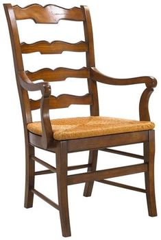Dining Arm Chair FRENCH HERITAGE MAISON BEAUJOLAIS Country Farmhouse Ladd FH-506