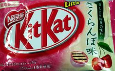 Cherry Kit Kat   Scroll through for more flavors!