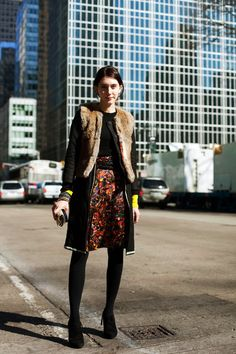 On the Street……Dries Skirt, NYC « The Sartorialist
