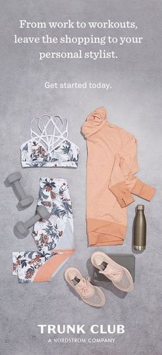 Wish the latest athleisure wear would just show up at your door? With Trunk Club, you're paired with your own stylist who shops for you based on your unique style and budget. Getting started is so simple. Workout Attire, Workout Wear, Workout Outfits, Athletic Outfits, Athletic Wear, Clothing Subscription Boxes, Summer Outfits, Cute Outfits, Gym Gear