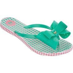 Zaxy Flip-flops - Fresh Thong - Green ($9.30) ❤ liked on Polyvore featuring shoes, sandals, flip flops, green, green sandals, zaxy, green flip flops, pvc shoes and green shoes