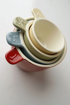 measuring cups - I love them and can never have enough!
