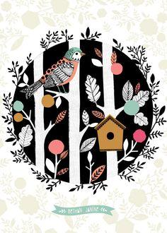 bird house by bethan janine