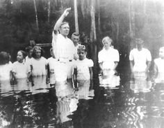 Getting Baptised in the Great Swamp Ridgeland South Carolina
