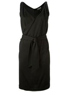 EMPORIO ARMANI V-Neck Dress