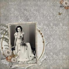 Another Fabulous Heritage Scrapbook Layout by Poffles from DSP