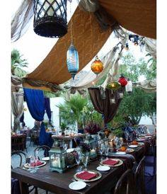 Gypsy bohemian beachy wedding
