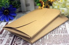 Cheap vintage kraft paper, Buy Quality paper diy directly from China paper kraft envelope Suppliers: Vintage Kraft Paper DIY Multifunction Envelope Package Craft paper postcard cover Kraft Paper, Diy Paper, Paper Crafts, Scarf Packaging, Box Packaging, Paper Envelopes, Kraft Envelopes, Diy Postcard, Envelope Box