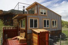This is the Clearstory Tiny House. It's located in Ridgway, Colorado. You can buy it for $29,000. What do you think? Please enjoy, learn more, and re-share below. Thank you! Clearstory Tiny H…
