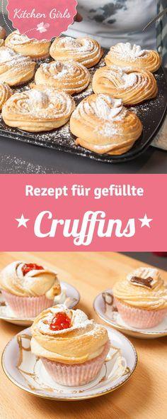 Unser Rezept für Cruffins (die Foodtrend-Kombination aus Croissant und Muffin aus New York) ist einfach und macht sie besonders fluffig. Sie sind auch super lecker zum Frühstück.