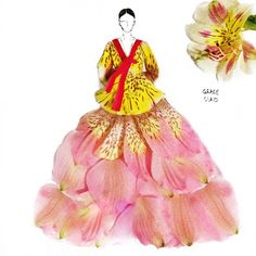 I've been designing modern dresses for a long while. How bout a traditional costume this time?  @grace_ciao #igrepost