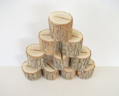 10 Sassafras Natural Wood Place Card Holder by TraditionalByNature, $22.00