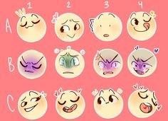 Expression Challenge, Drawing Challenge, Art Challenge, Expression Sheet, Cartoon Expression, Drawing Meme, Drawing Prompt, Drawing Reference Poses, Drawing Poses