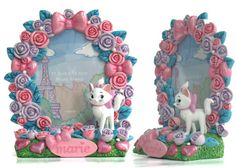 China OEM Marie Cat Resin Photo Frame Manufacturer