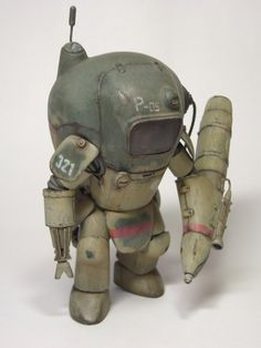 P.K.A. Fliege ground type. NITTO Ma.K. 1/20 remodeled. By katoya. #Ma_K #Maschinen_Krieger