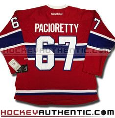 Max Pacioretty Montreal Canadiens home Reebok Premier jersey 6d3d61618