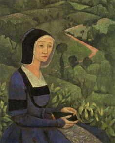 The Athenaeum - A Widow (Paul Serusier - )
