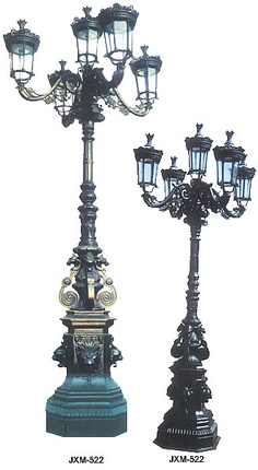 Image detail for -cast iron street lamp post, garden lamp, wall lamp