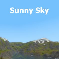 This mod replaces the game's default sky to a sunny and shiny one. Sims 3 Mods, Lightning, Sunnies, Weather, Sky, World, Nature, Travel, Heaven