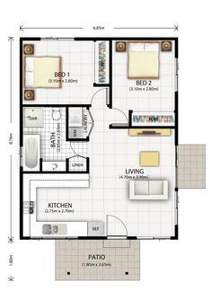 Abbotsbury Granny Flat Design Floor Plan