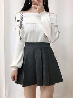 asian fashion New Fashion Asian Casual Jeans Ideas Korean Girl Fashion, Korean Fashion Trends, Ulzzang Fashion, Kpop Fashion Outfits, Korean Outfits, Mode Outfits, Korean Dress, Casual Asian Fashion, Ulzzang Style