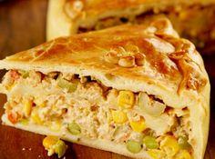 Empadão de Frango Prático! #frango #chickenpie #chicken #empadão #recipe #receita #CyberCook
