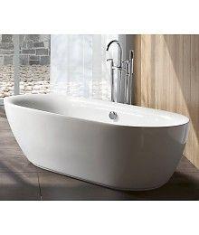 Betaalbare vrijstaande baden op badkamerenco.nl Sem Geneva vrijstaand bad 180x84x54cm wit