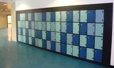 Get prefect lockers or school lockers that are made with high quality materials. Our locks, hinges and other components have been carefully developed to ensure your property.