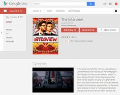 Google and Sony make The Interview available for streaming - https://www.aivanet.com/2014/12/google-and-sony-make-the-interview-available-for-streaming/