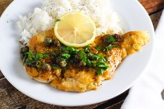 Chicken Piccata from Platings and Pairings
