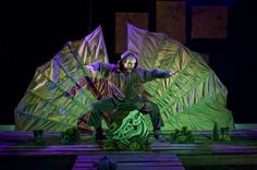 The Tempest puppetry