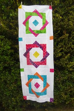 ! Sew we STITCH: Guest #43 Karen From IRELAND with a Hippy Square Tutorial and a gibveaway of...