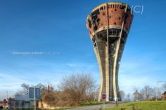 The symbol of tenacity and endurance of Croatian Vukovar is the water tower