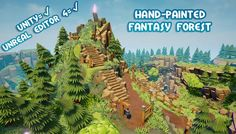Hand-Painted Fantasy Forest Pack has just been added to GameDev Market! Check it out: http://ift.tt/1pgxqLN #gamedev #indiedev
