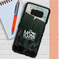 The Maze Runner Samsung Galaxy Case Dewantary Galaxy S8, Samsung Galaxy, Cool Phone Cases, Maze Runner, Fitness, The Maze Runner